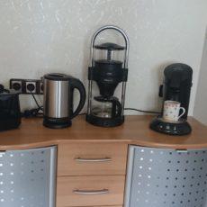 Kaffeemaschinen und Toaster