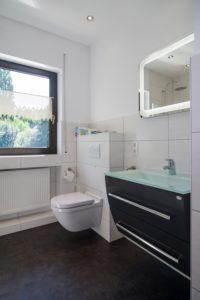 """Ferienhaus: Das """"grüne"""" Badezimmer"""