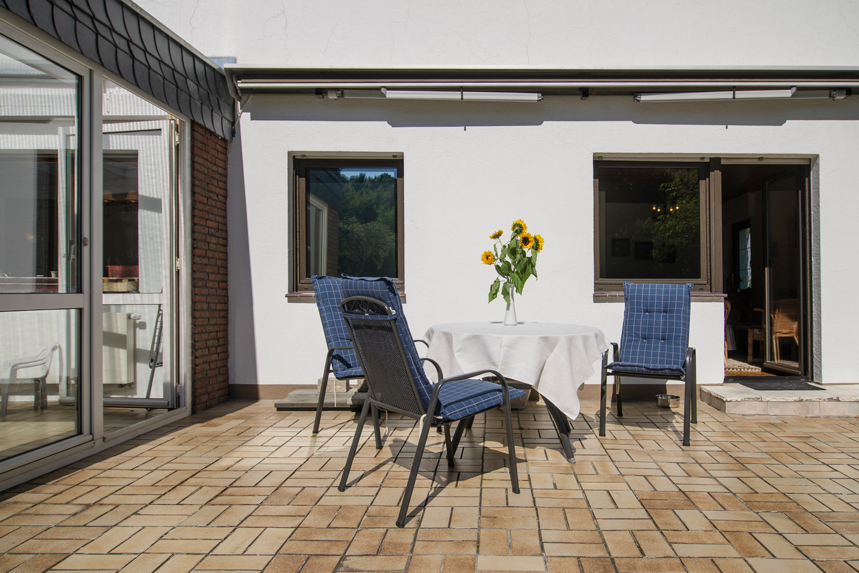 Terrasse in der Sonne
