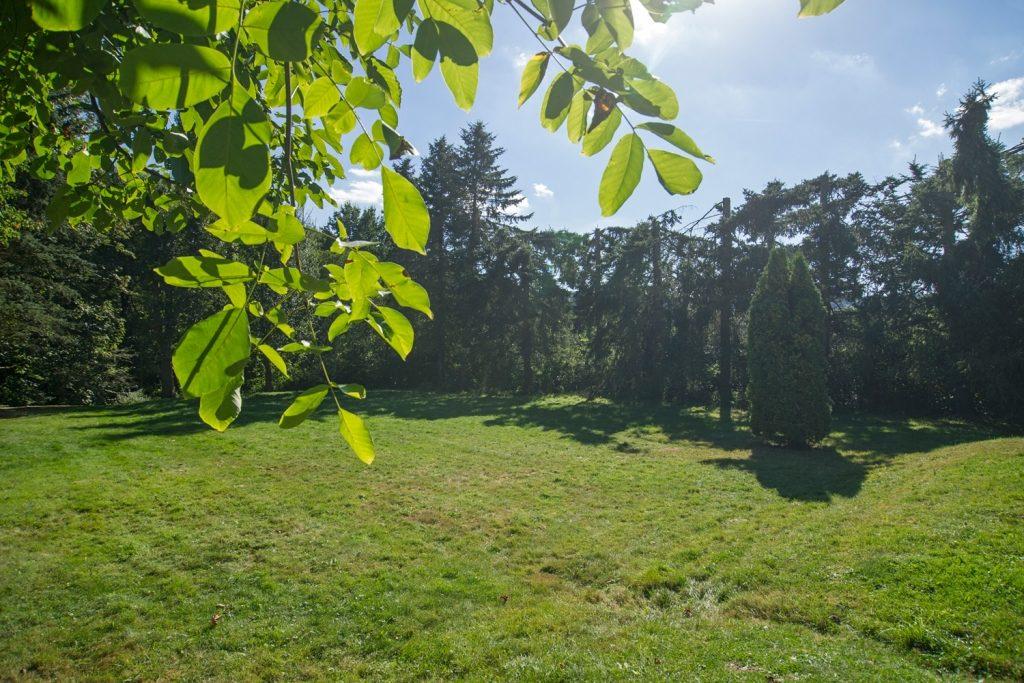 Großer Garten Ferienhaus-Faltmann Herbstferien