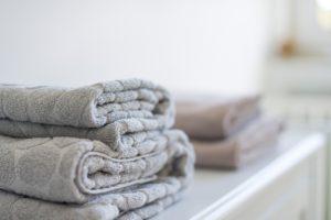 Handtücher im Ferienhaus