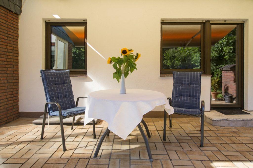 Terrassenmöbel Ferienhaus-Faltmann