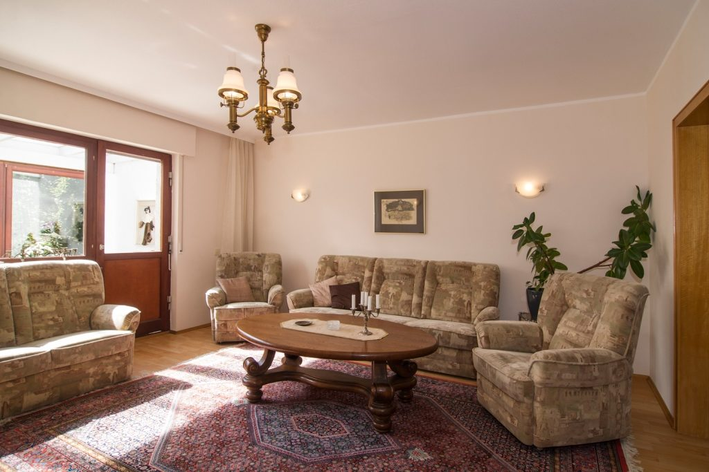 Sitzecke Ferienhaus-Faltmann