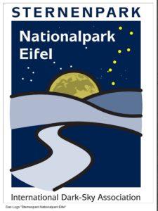 Sehenswertes in der Eifel: Logo Sternenpark Nationalpark Eifel